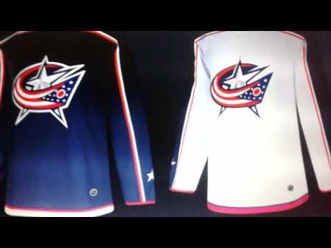 2017-18 Adidas NHL Jerseys: Part 1 - Metro Division