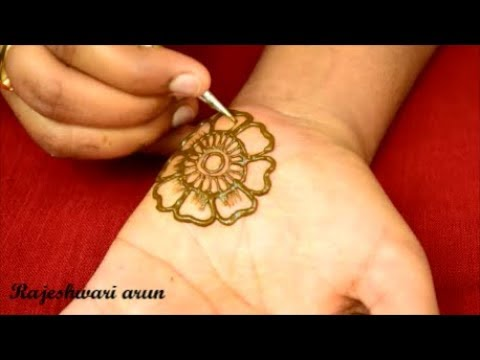 Simple Arabic Mehndi Designs For Hands New Latest Mehndi