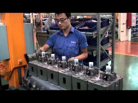 WP12 Weichai factory assembly