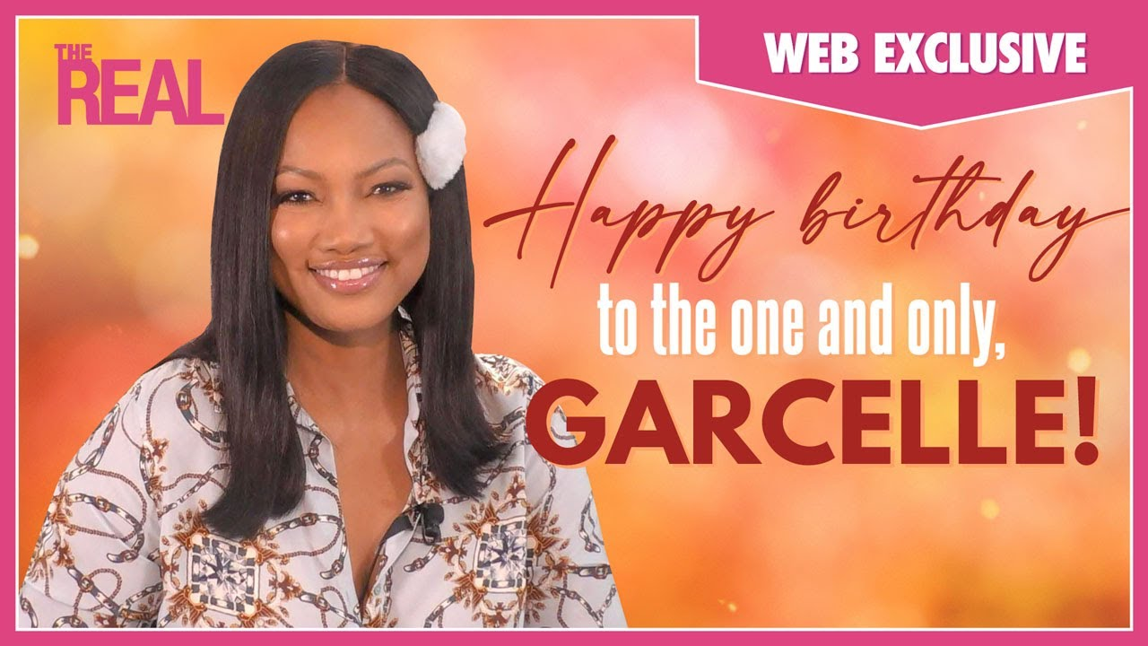 Happy Birthday To Our Very Own Garcelle!