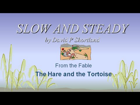 The Hare and the Tortoise Song from Aesop's Fables: including Lyrics