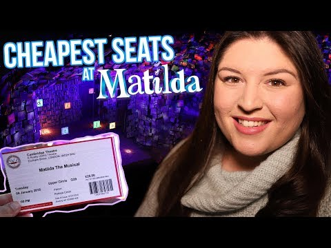 The CHEAPEST Seats at MATILDA The Musical (London) 💙 REVIEW