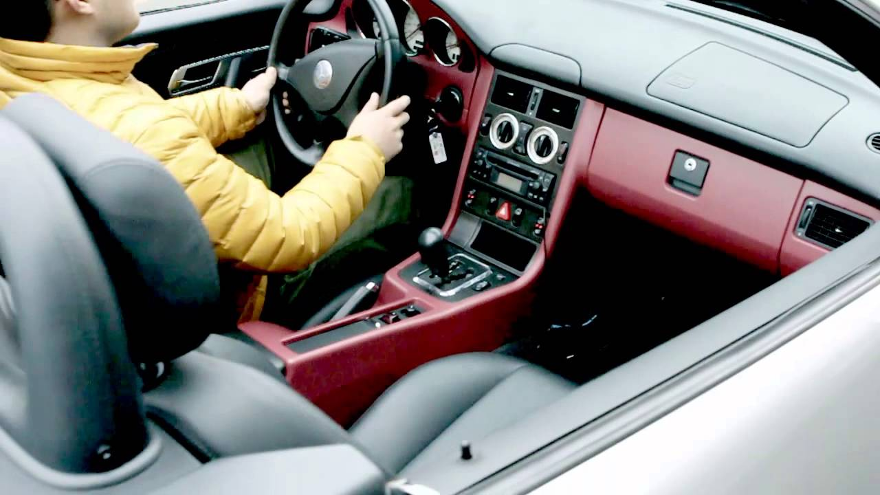 BENZ SLK230 INTERIOR LEATHER WRAPPING YouTube