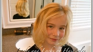 How to curl hair with fat Curling Iron
