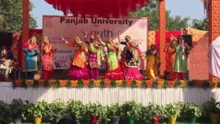 giddha SGGS college Chandigarh 2016