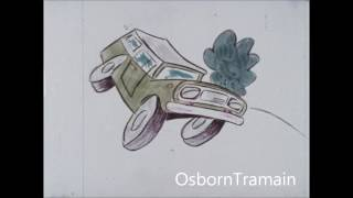 1970 international Scout Gewerbe - Cartoon