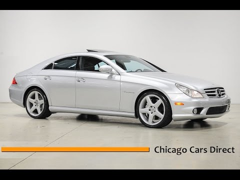 Chicago Cars Direct Reviews Presents a 2006 Mercedes-Benz CLS-Class CLS55 AMG - A042210