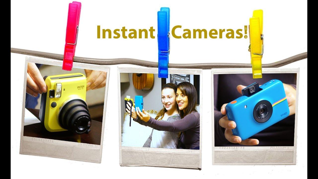 Polaroid Vs Instax >> Fujifilm Instax Mini vs Polaroid Snap - YouTube