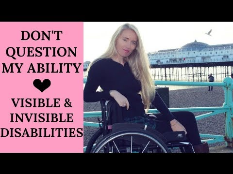 DON'T QUESTION MY ABILITY ♿️| INVISIBLE & VISIBLE DISABILITY CHAT