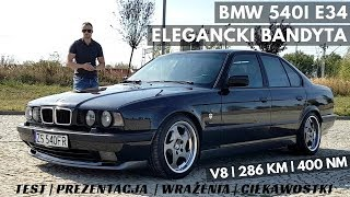 1994 BMW 540i e34 - Przepiękna seria 5ta z lat 90-tych. TEST