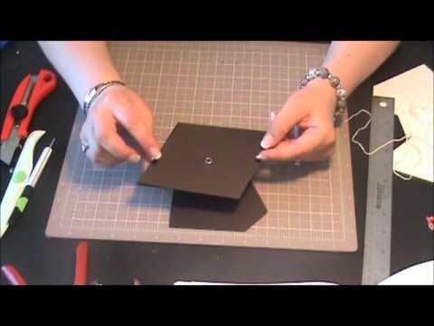 Tarjeta de Graduacion - Scrapbooking con Lily - YouTube