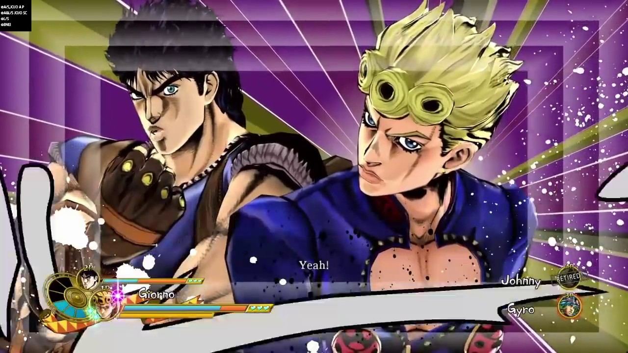 Giorno Interactions With Jonathan Jojos Bizarre Adventure Eyes Of