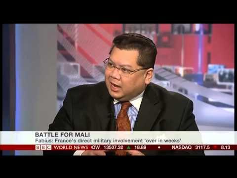 J. Peter Pham on French Intervention in Mali (BBC World News)