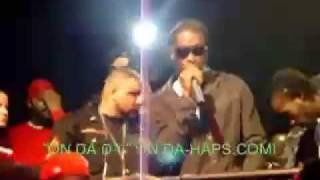 MAVADO AND BOUNTY KILLER AT DJ KHALLED BIRTHDAY PARTY IN MIAMI