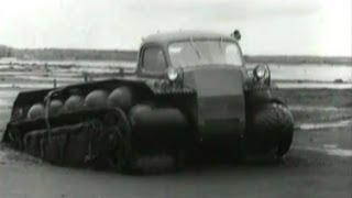 Вездеход Амфибия ЗиЛ ПКУ-1(Вездеход амфибия, снегоболотоход созданный Виталием Грачевым в 1965 году -- уникальный прототип вездехода..., 2013-09-03T10:26:10.000Z)