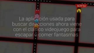 Mira cómo puedes jugar Ms. Pac Man en Google Maps Free HD Video