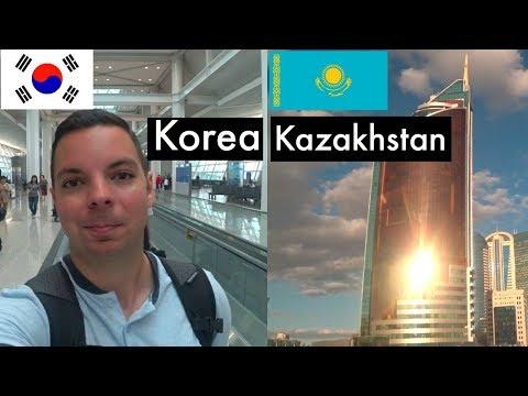 Goodbye Korea and Hello Kazakhstan!