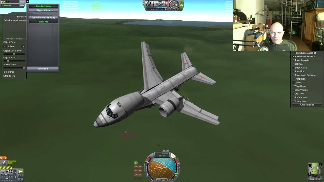 Modular Kerbal Aircraft Livestream (and a Bit of Star Citizen) - YouTube