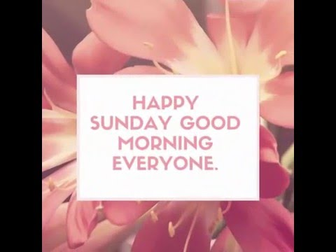 Happy Sunday Quotes Sunday Images Youtube