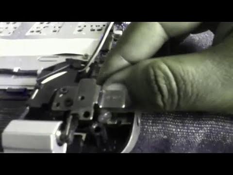 HP Envy 17- solution  Broken Screw Fitting on Case Near Left Hinge.