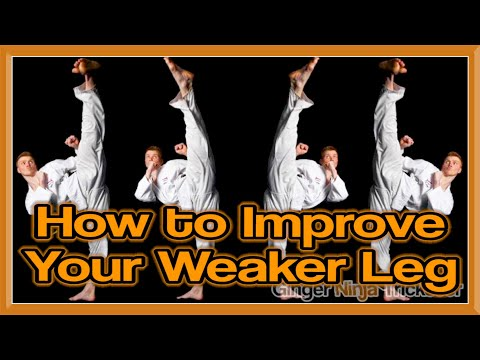 How to Improve Your Weaker Kicking Leg for Martial Arts | GNT Q&A