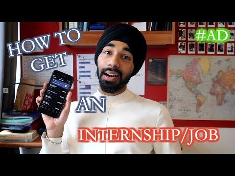 TIPS FOR GETTING AN INTERNSHIP/GRAD JOB! | THIS IS MANI | #AD