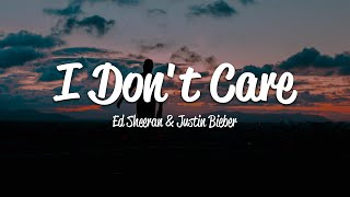 Baixar Ed Sheeran & Justin Bieber - I Don't Care (Lyrics)