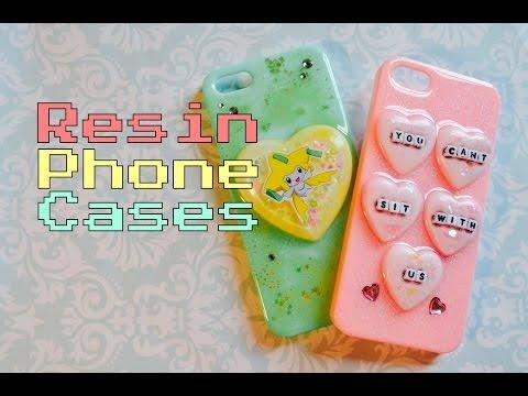 ✾Resin Tutorial: Phone Cases