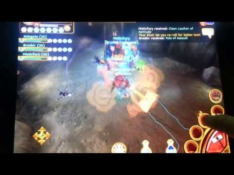 Arcane Legends Boss Run 2 ANTEE (WRATH JAW EGG)