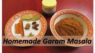 Homemade Easy Garam Masala (english)