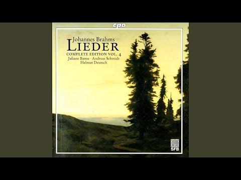 8 Lieder und Gesange, Op. 57 (text by G.F. Daumer) : No. 3. Es traumte mir