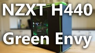 nZXT H440 Green Unboxing Review and Build Timelapse