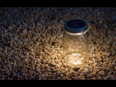 Consol Solar Jar - Solar Powered LED Light