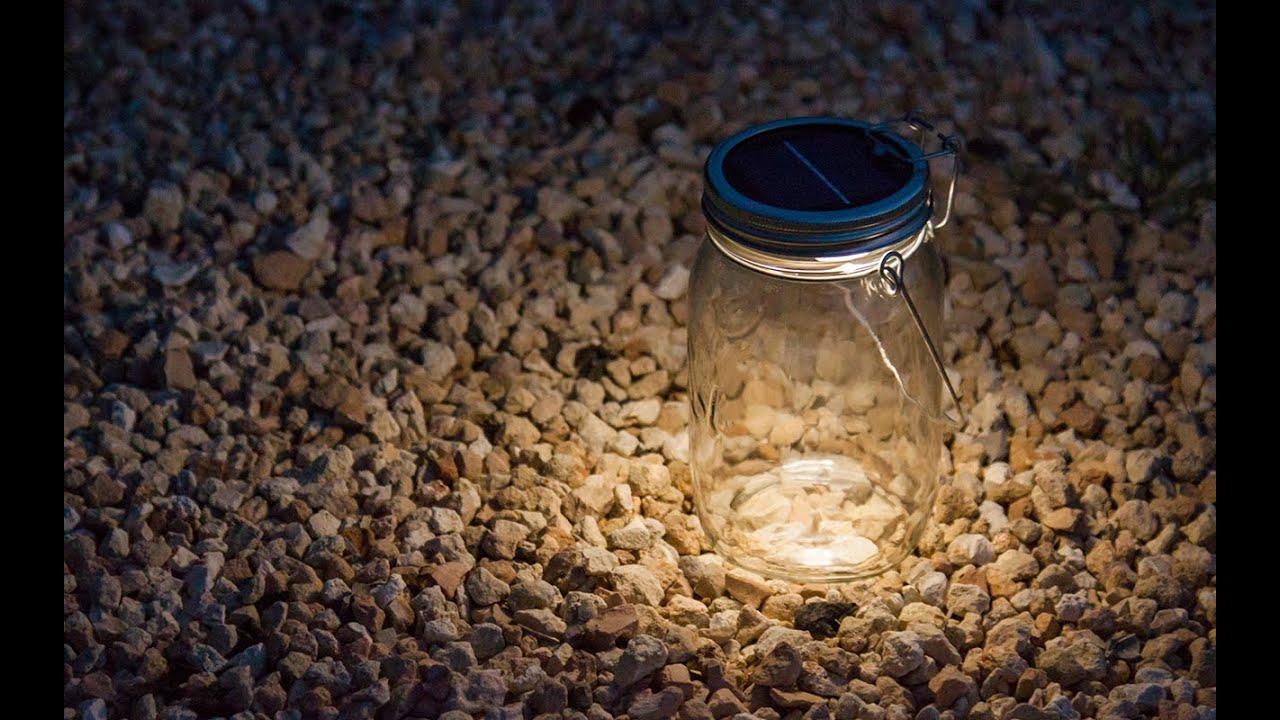 Consol Solar Jar Ed Led Light