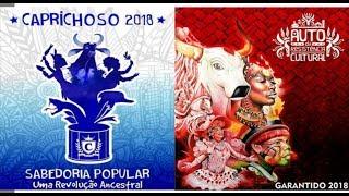 Parintins 2018 - Boi Caprichoso e Boi Garantido (Toadas)