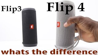 JBL Flip 4 Compared to JBL Flip 3. Should you upgrade? what's the difference