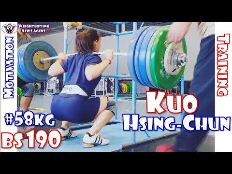 Kuo Hsing-Chun | 郭婞淳 (TPE, 58KG) | Olympic Weightlifting Training | Motivation