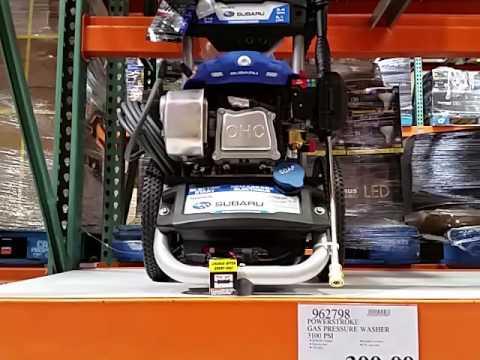 Subaru Powerstroke Gas Pressure Washer 3100 Psi At Costco Youtube
