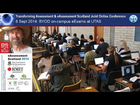BYOD on-campus eExams at University of Tasmania (UTAS)