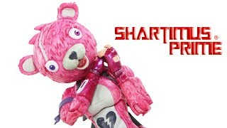 Fortnite Cuddle Team Leader McFarlane Toys 7 Inch Video Game Action Figure Toy Review