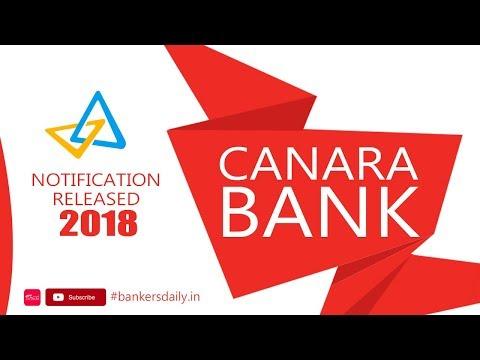 Canara Bank PO PGDBF  - 2018 Notification Released | 800+ Vacancies | Mr.Jackson