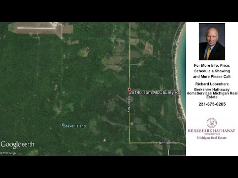 26140 Tom McCauley, Beaver Island, MI Presented by Richard Lobenherz.