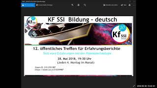 2018 05 28 PM Public Teachings in German - Öffentliche Schulungen in Deutsch