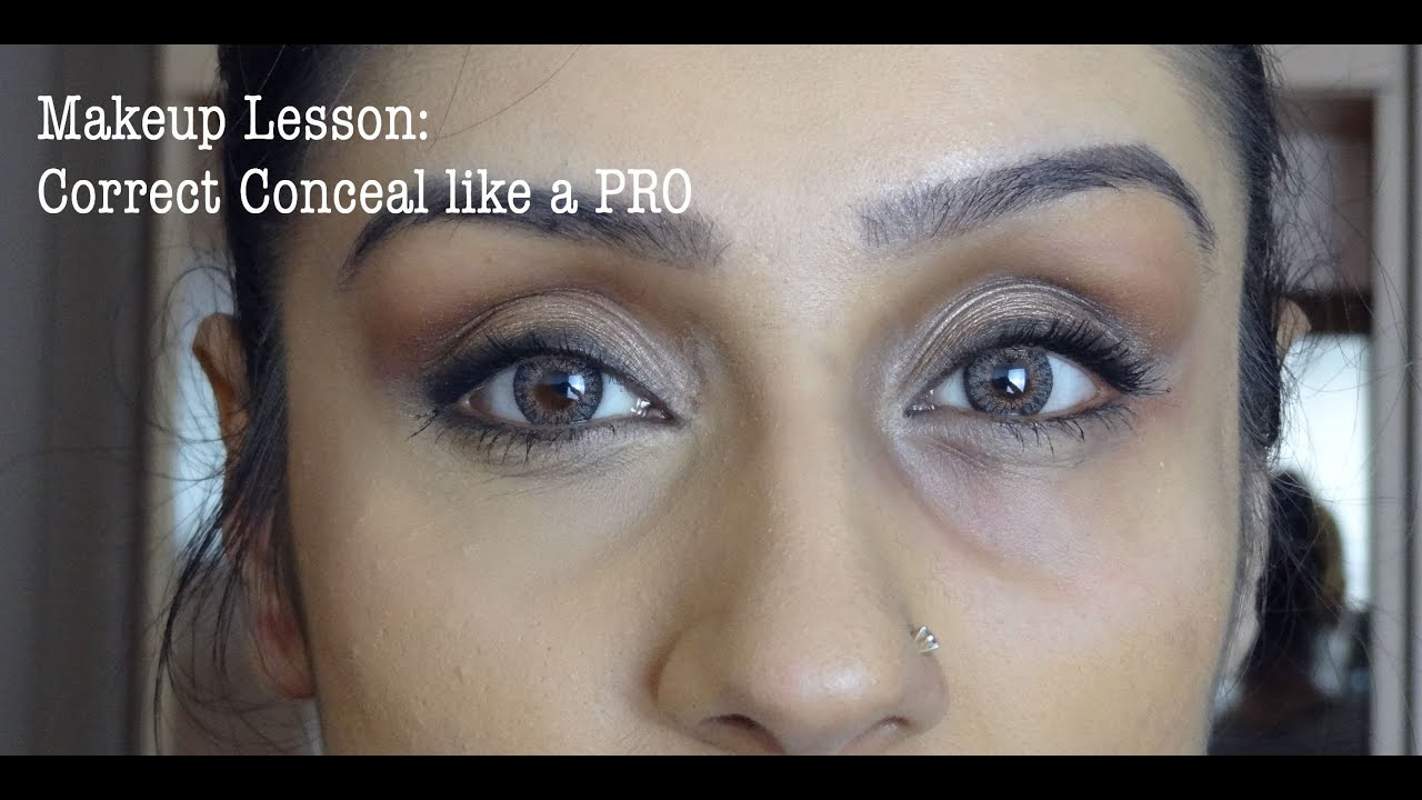 Makeup Lesson: Under Eyes Correcting & Concealing || Raji ... - photo#2