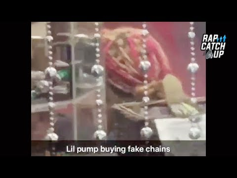 Lil Pump Reportedly Caught By Fans Buying Fake Jewelry On