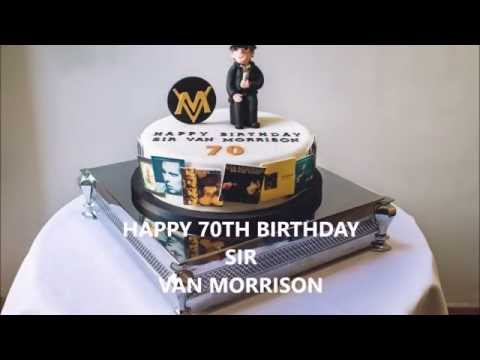 Sir Van Morrison 70th birthday celebration fan party