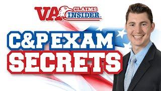 C&P Exam for PTSD SECRETS *LIVE* with VA Claims Insider