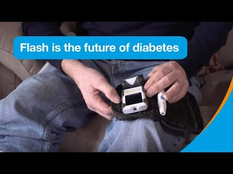 Flash glucose monitoring is the future of diabetes | Flash Campaign | Diabetes UK