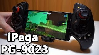 iPega PG-9023 Bluetooth Controller - Unboxing & Review - Greek (Lightake)