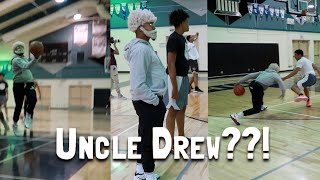 HOOPING AS 'UNCLE DREW' FOR HALLOWEEN..!!